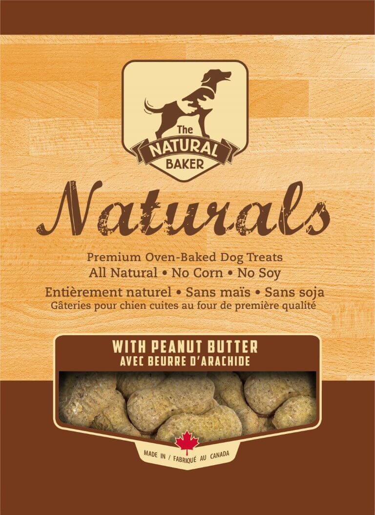 natural baker naturals peanut butter